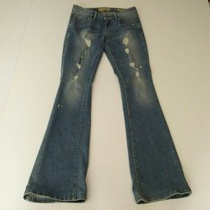 GUESS Jeans Destroyed Size 24